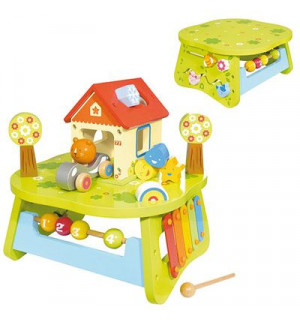 Table multi activit s house of toys avis - Table d activite exterieur ...