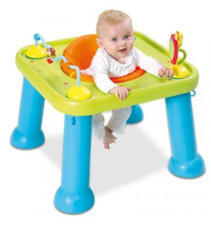 Table si ge d 39 activit s veil youpi baby cotoons smoby avis for Table d activite pour bebe