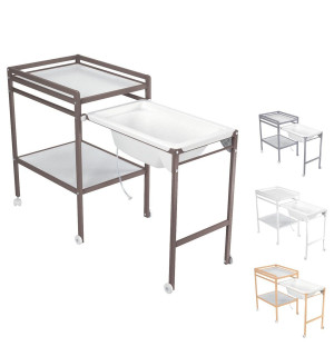 Table langer avec baignoire bebe 9 avis - Berceau avec table a langer 2 ...