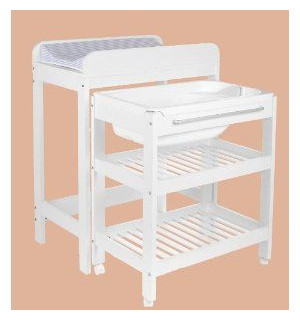 Table langer avec baignoire childwood avis for Table de toilette acrylique ikea