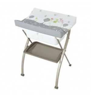 Table langer pliante bebe 9 avis for Meuble avec table pliante