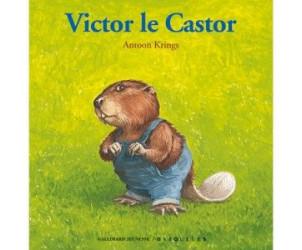 Livre Drôles de petites bêtes : Victor le castor