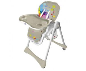 Chaise haute pliante évolutive Baby Fox