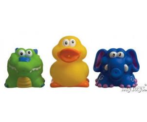 Figurines de bain (x3)