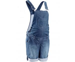 Salopette-short en jean de grossesse - Bon Prix