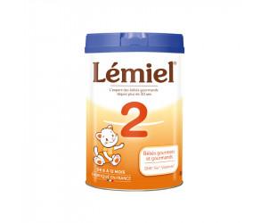 Lait Milumel lémiel 2ème âge 900 g
