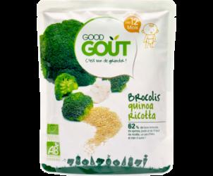 Brocolis, quinoa, ricotta, dès 12 mois