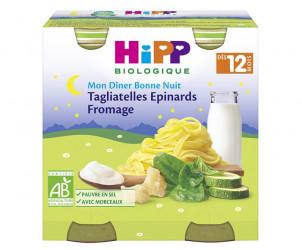 Tagliatelles Fromage Épinards