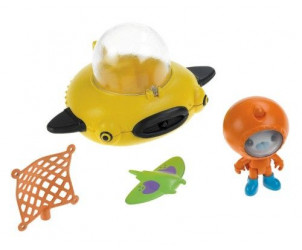 Octonauts Guppy-D et le capitaine Barnacles