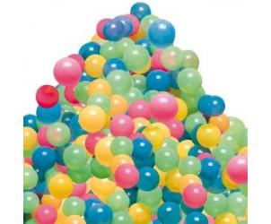 100 balles multicolores