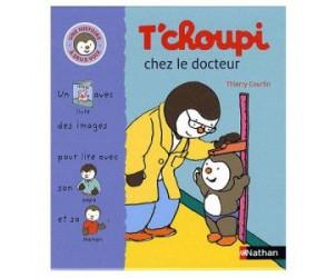 Livre T'choupi chez le docteur, histoire à deux voix