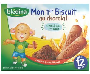 Blédiscuit Croissance au chocolat