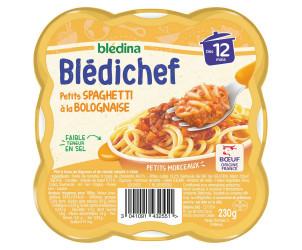 BLEDICHEF Petits spaghetti à la bolognaise