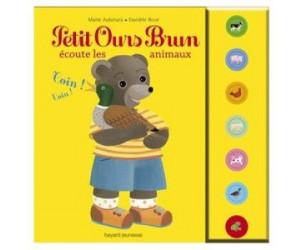 Livre sonore Petit Ours Brun écoute les animaux