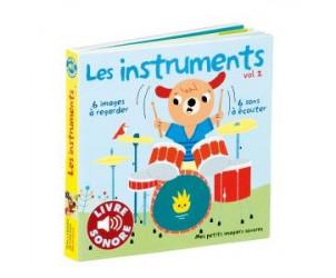 Livre imagier sonore Les instruments 2