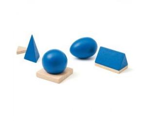 Solides géométriques Ateliers Montessori