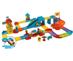 Tchou-Tchou Bolides Mon circuit train interactif