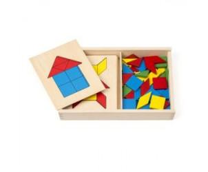 Jeu de tangram et de reconnaissance des formes Educabul