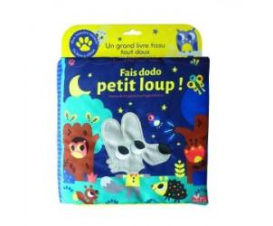 Livre tissu Fais dodo Petit Loup