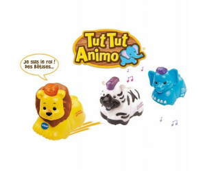 Tut Tut Animo - Coffret trio Savane