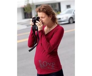 T-shirt de grossesse à message