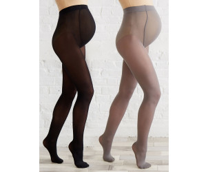 Lot de 2 collants opaques de grossesse