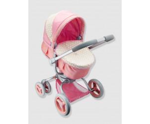Poussette-landau poupée Babybébé Pram 360°