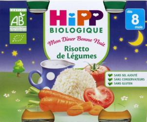 Risotto de légumes 190 g dès 8 mois