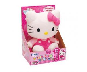 Peluche parlante anglais Hello Kitty