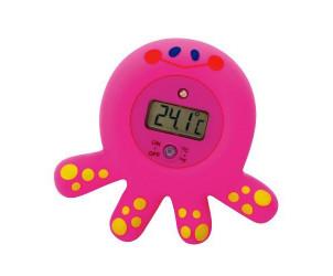 Thermomètre de bain électronique pieuvre