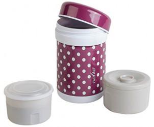 Bouteille isotherme + 2 récipients pour nourriture (750 ml)