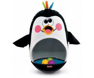 Culbuto pingouin à boules