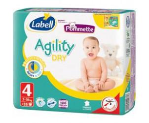 Couches Agility Dry Pommette Avis