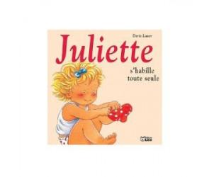 Livre Juliette s'habille toute seule