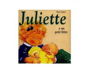Livre Juliette a un petit frère