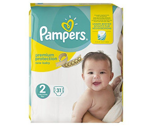 Couches Premium Protection New Baby, Taille 2 (Mini 3–6kg)
