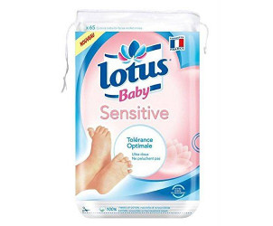 Lotus baby sensitive carrés coton