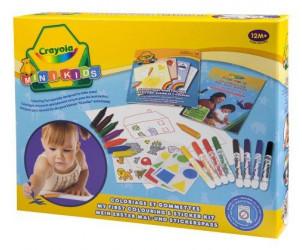 Kit de Loisir Créatif Coloriage et Gommettes
