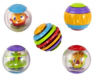 Balles d'activité Shake & Spin
