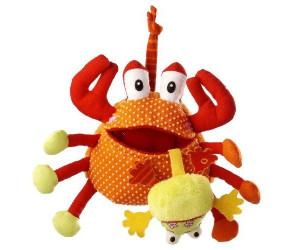 Hochet Oscar le Crabe Gourmand