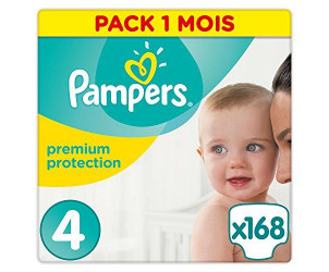 Couches premium protection, taille 4 (8-16kg)