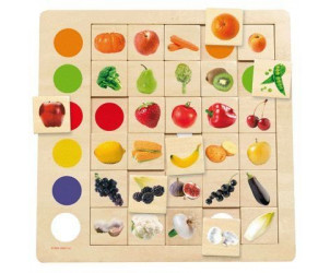 Jeu Association Couleurs - Fruits