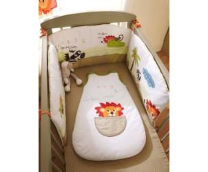 tour de lit bébé jungle savane Tour de lit brode bebe L'as tu vu VERTBAUDET : Avis tour de lit bébé jungle savane