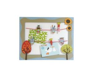 Decoration Pele-mele bebe Doudous