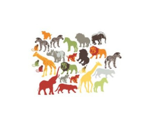 37 stickers animaux de la jungle chambre garcon