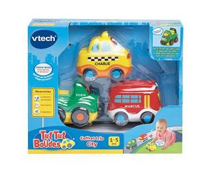 Coffret Trio City Tut Tut Bolides - Taxi + Bus + 4 X 4