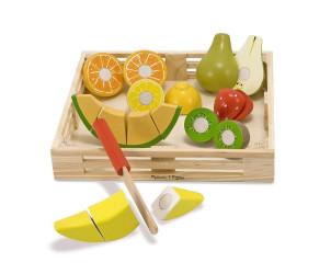 Coffret de fruits à découper
