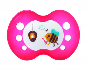 Sucette orthodontique silicone 0-6 mois