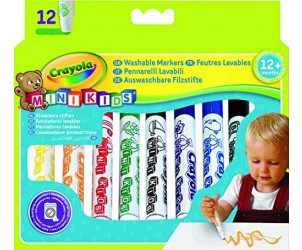12 feutres lavables Mini Kids