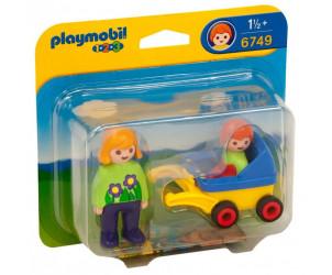 Playmobil 1.2.3 - Maman avec poussette